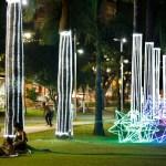 Prefeitura entrega decoração natalina no Parque da Lagoa, Largo de Tambaú e outros pontos de João Pessoa