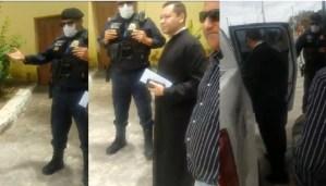 Padre Luciano, preso pela guarda municipal no Conde, pede afastamento da paróquia para manter integridade física