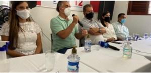Em coletiva, presidente nacional do PDT elogia modelo de gestão de Luciano Cartaxo e defende nome do prefeito com forte candidato em 2022