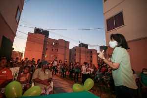 No Saturnino de Brito, Edilma Freire garante mais investimentos em infraestrutura e habitação para a Capital