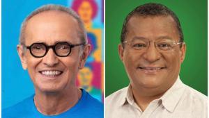 Pesquisa Arapuan/Consult: Cícero Lucena aparece com 49,2% e Nilvan Ferreira com 40,9%