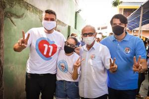 Senador Diego Tavares vota e demonstra confiança na vitória de Cícero