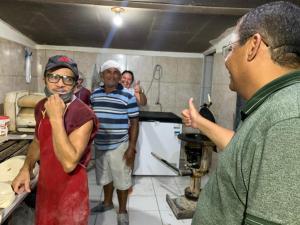 """João Pessoa vai ter de verdade um prefeito que cuidará do povo"""", diz Nilvan ao visitar comunidades Muçumagro e Timbó"""
