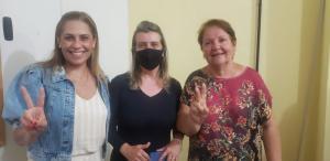 União histórica: Aparecida Gomes renuncia candidatura a prefeita para apoiar Dra. Silvia, em Areia