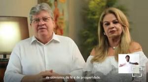 VÍDEO – Em mensagem de fim de ano, João Azevêdo pede celebração com responsabilidade