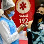 Mais de três mil trabalhadores da saúde já foram vacinados contra a Covid-19 em João Pessoa