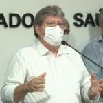 """""""Pela primeira vez temos um instrumento para combater a Covid"""", diz João Azevêdo durante lançamento do plano de vacinação da PB"""