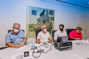 Cícero Lucena se reúne com ministro da Saúde para definir vacinação e defende profissionais da educação no grupo prioritário