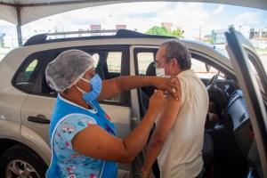 Prefeitura de João Pessoa vacinou 3.848 idosos a partir dos 69 anos neste sábado
