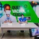 Prefeitura de João Pessoa tranquiliza população sobre segunda dose e aguarda chegada de nova remessa de vacinas