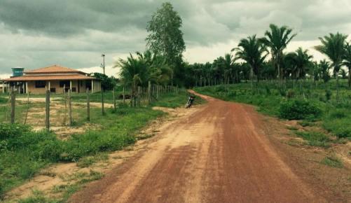 Fazenda onde está sediada a empresa fantasma que 'abocanhou' contratos na Prefeitura de Matinha