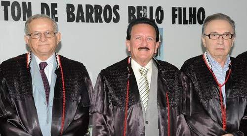 Jorge Pavão, Edmar Cutrim e Raimundo Nonato Lago