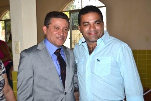 José Auricélio de Moraes Leandro(PR) e o deputado estadual Josimar de Maranhãozinho