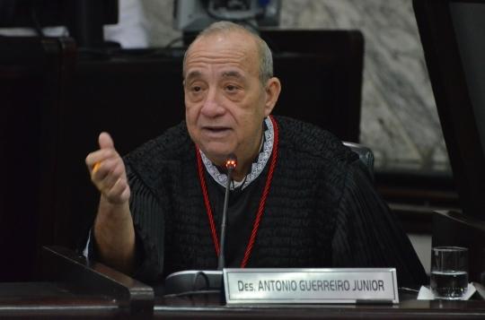Des. Guerreiro Junior foi o relator do processo. Foto: Ribamar Pinheiro/ Arquivo TJMA