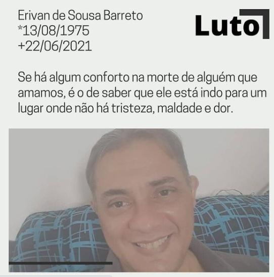 herdran Sanfoneiro do Forró D2 perde o pai e o irmão em menos de 24 horas, vítimas da Covid-19