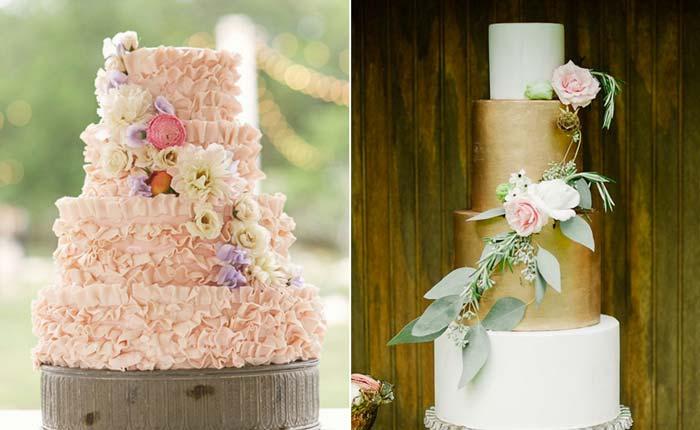 Os 40 bolos de casamento mais lindos do mundo  Blog do Casamento