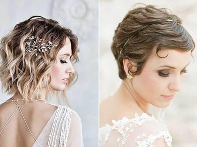 Inspirações: penteados para noivas com cabelo curto