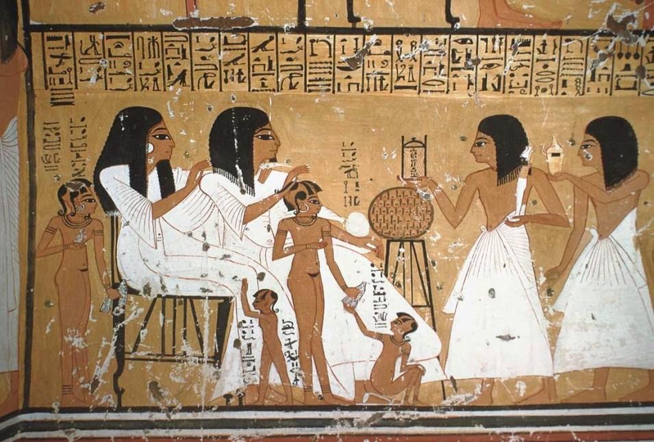 cena-familiar-no-Antigo-Egito Dez fatos sobre o sexo no mundo antigo