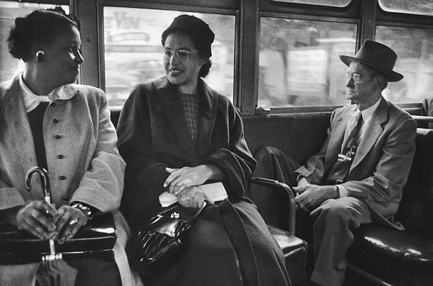 rosa_parks Brancos Aqui, Negros Pra Lá, e Rosa Parks no Meio