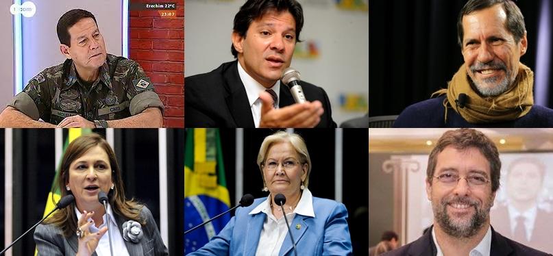 P1 Eleições 2018: Os Candidatos a Vice e o Que Agregam a Seus Presidenciáveis