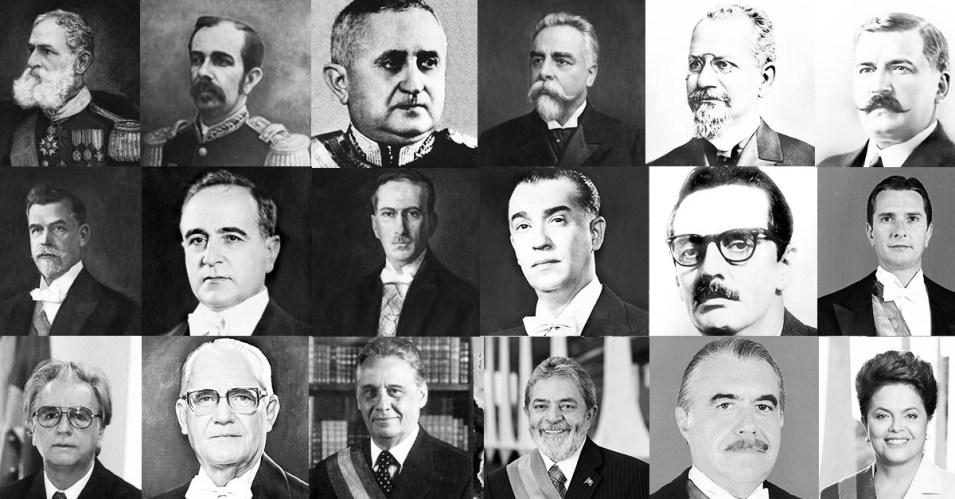Presidentes-do-Brasil- A Maldita Sina de Ser Presidente do Brasil