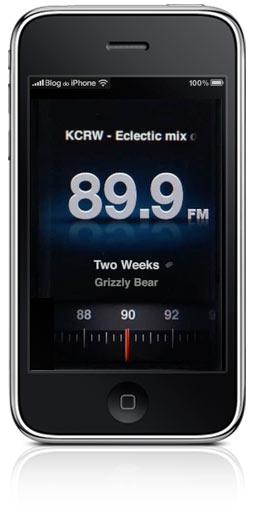 Rádio no iPhone