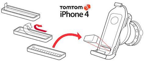 TomTom irá fornecer um adaptador para iPhone 4 aos que