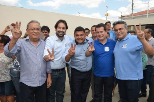 Augustinho Rufino, Diogo Moraes, Toinho do Pará, Edson Vieira e Oseas Moraes