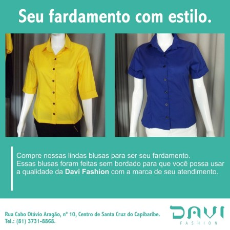 Davi Fashion fardamento