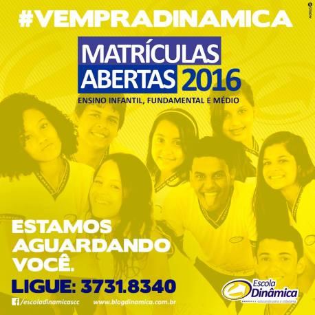 Dinamica Matriculas 2016