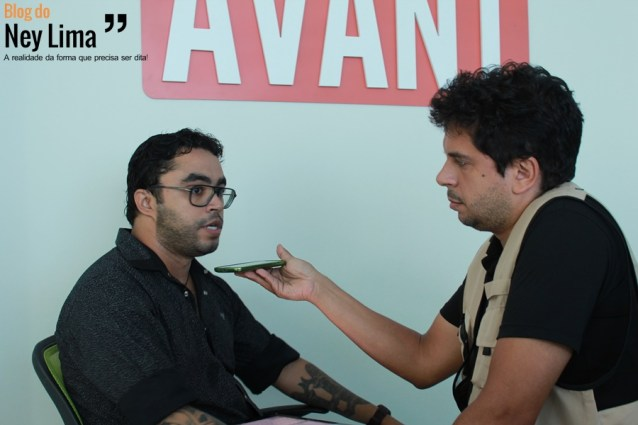 Entrevista foi concedida ao jornalista Thonny Hil - Foto: Renan Tavares