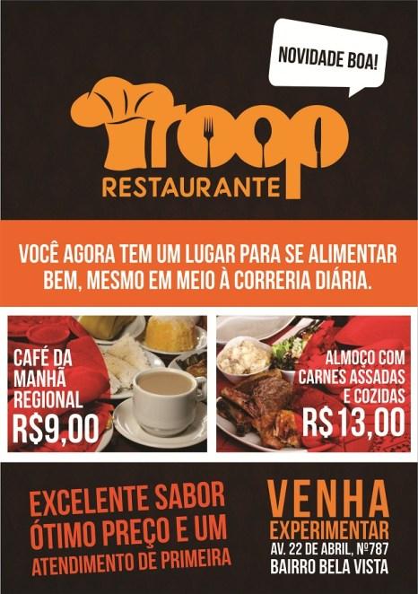 Troop Restaurante-Banner