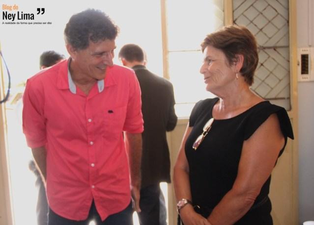 Dimas Dantas e Zilda Moraes