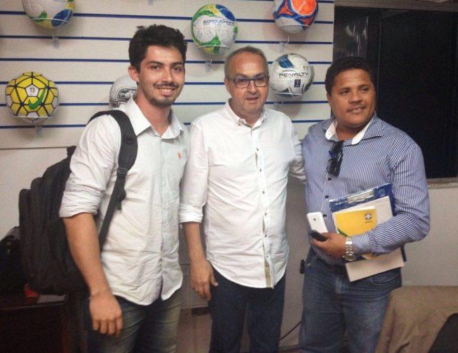 Reunião Ypiranga e FPF