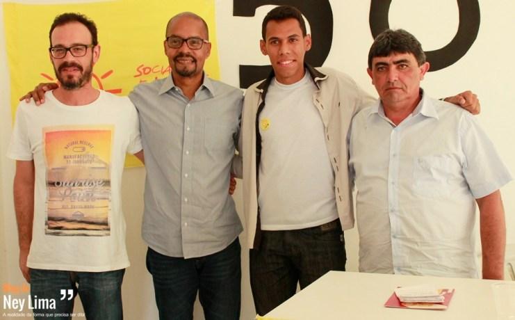 Rodolfo, Edilson, Alisson e Sérgio