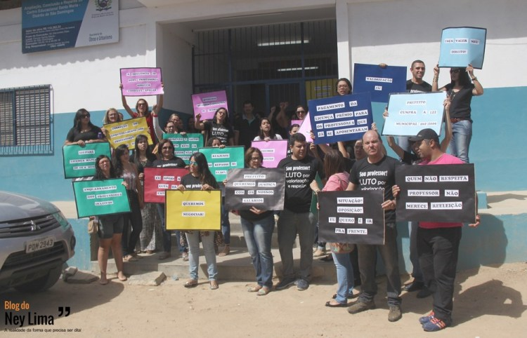 Protesto Professores Brejo