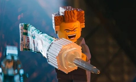 Toy Story … a still from The Lego Movie featuring President Business, played by Will Ferrell.