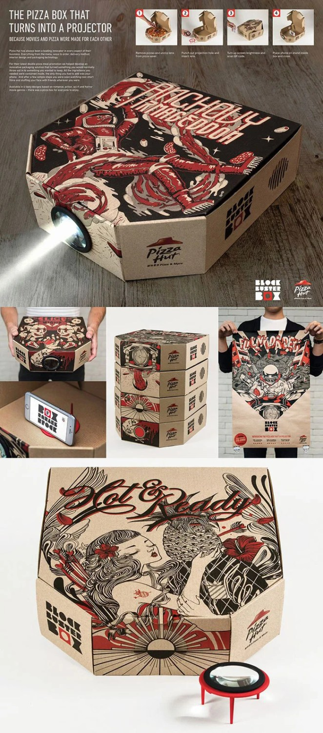 pizza-box-smartphone-projector