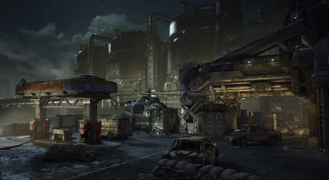 Fuel Depot Screenshot