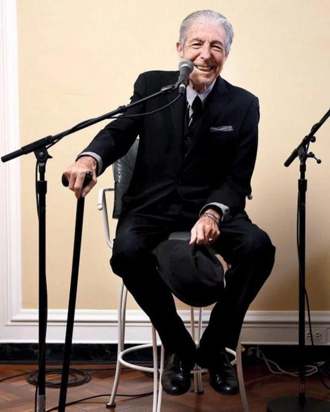 Leonard Cohen, 82, 1934 - 2016