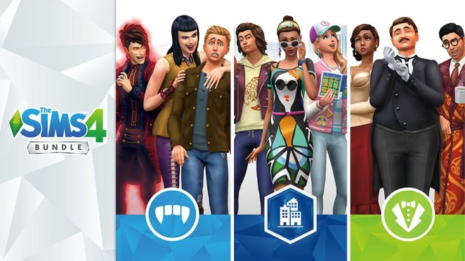 The Sims 4 Launch Hero Image