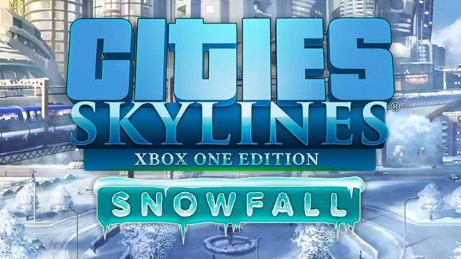 Cities Skylines Snowfall Hero Art