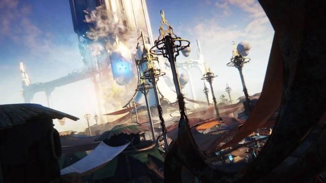 Warframe Plains of Eidolon Screenshot