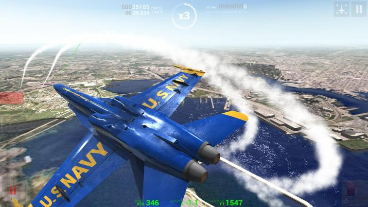 Blue Angels Aerobatic Flight Simulator Available Now on