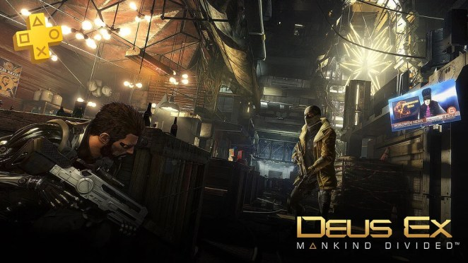 PlayStation Plus January 2018: Deus Ex - Mankind Divided