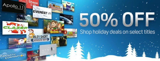 Up To 65 Off Viveport Titles
