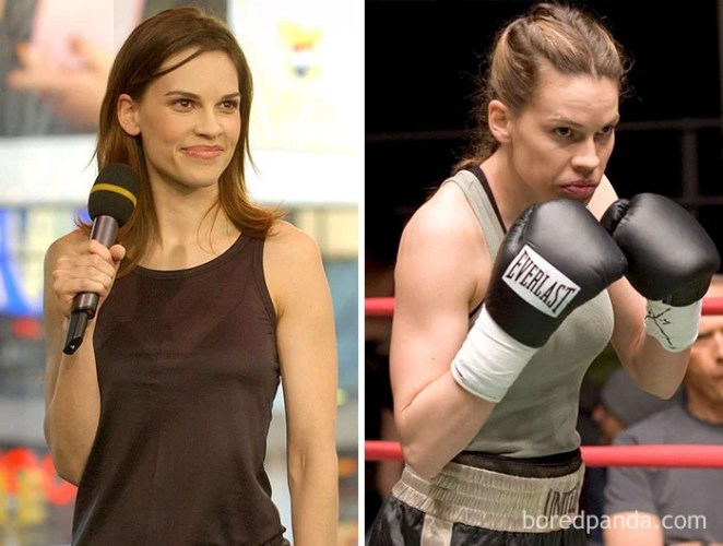 Hillary Swank, Million Dollar Baby
