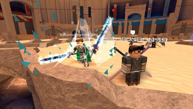 Flood Escape 2 And Swordburst 2 Come To Roblox On Xbox One - how to make your own roblox game xbox one