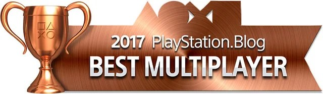 PlayStation Blog Game of the Year 2017 - Best Multiplayer (Bronze)