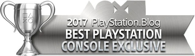 PlayStation Blog Game of the Year 2017 - Best PlayStation Console Exclusive (Silver)